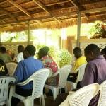 Incontro con gli studenti universitari a Lomè