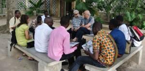 Con P Fabio e gli universitari ciechi