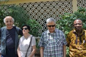 Viola, Padre Fabio, Flavio e Moise
