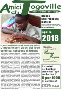 Amici di Togoville aprile 2018
