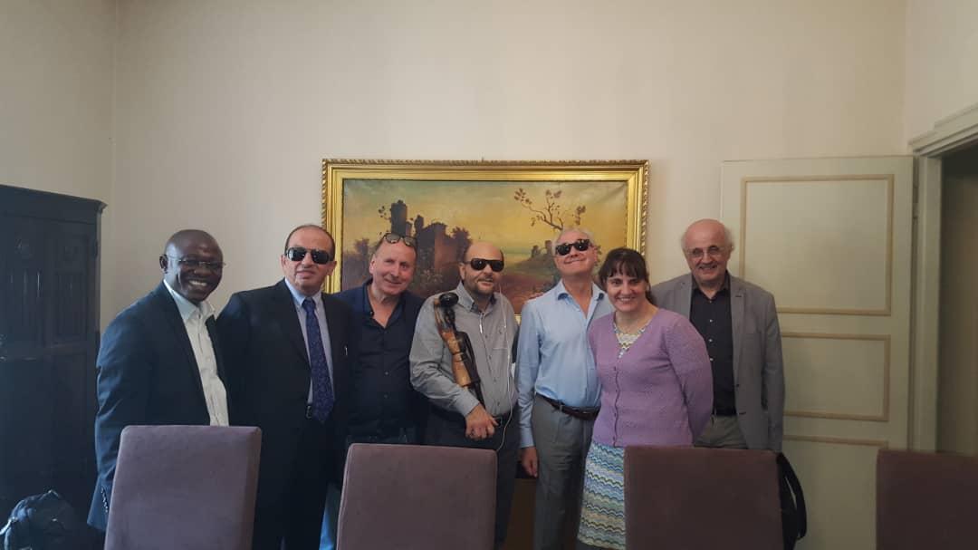 Incontro alla'UICI di Roma